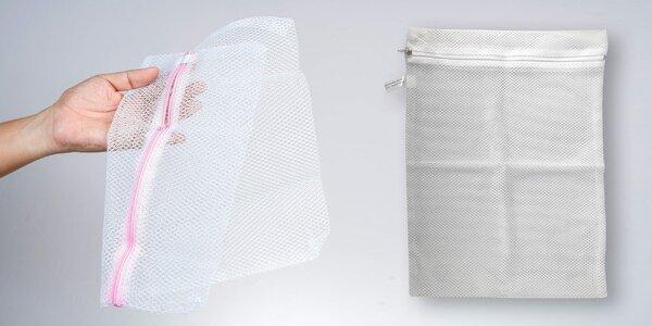 Sada 4 sítěk s výztuží na praní jemného prádla