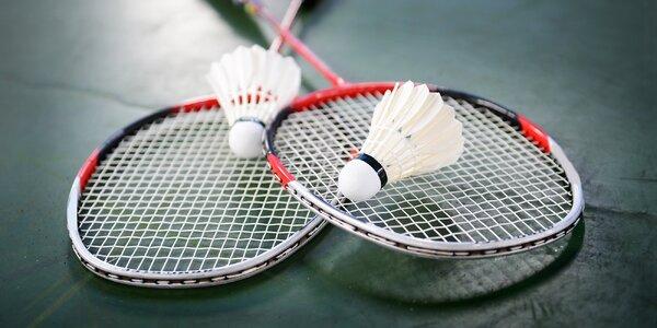 Kompletní badmintonová výbava pro 2 nebo 4 hráče