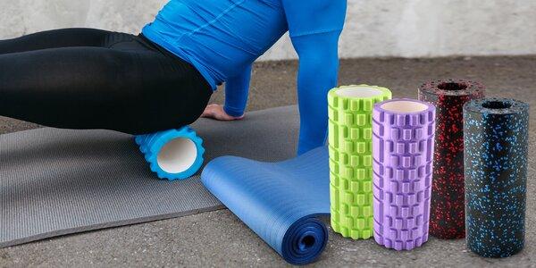 Masážní válec a podložka na cvičení i rehabilitace