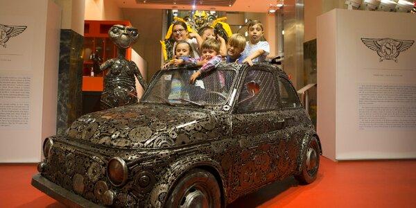 8 tipů na interaktivní muzea a galerie, do kterých s dětmi musíte