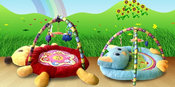Dětské interaktivní hrací deky pro všechna miminka