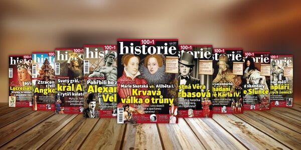 Časopis 100+1 historie, kompletní ročník 2019