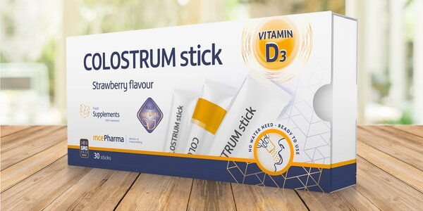 Colostrum pro posílení imunity dětí i dospělých