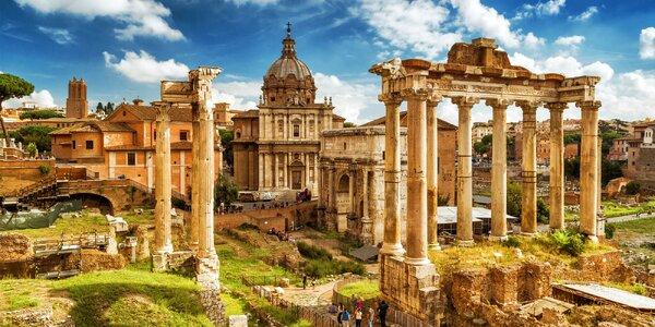 Jaro v Římě: letenky a 3 noci v dostupnosti metra