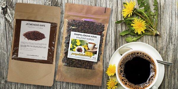 Zdravá káva z ječmene či pampelišky bez kofeinu