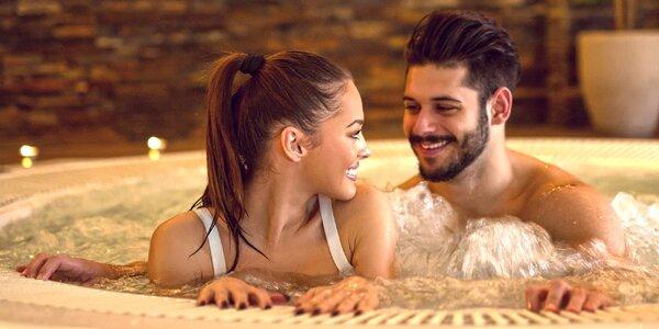 Privátní wellness na 120 minut: sauna i vířivka