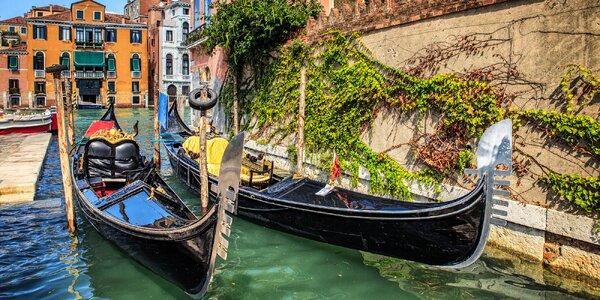 Letecky do Benátek: 4 noci, snídaně, program
