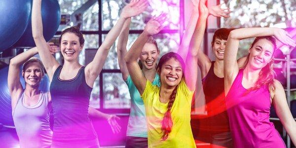 10 lekcí tance nebo kruhového tréninku pro dámy
