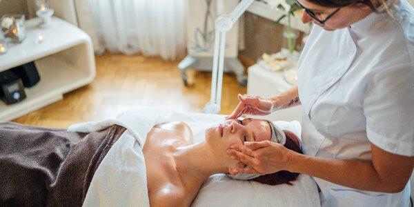 Luxusní kosmetické balíčky: ošetření obličeje a dekoltu