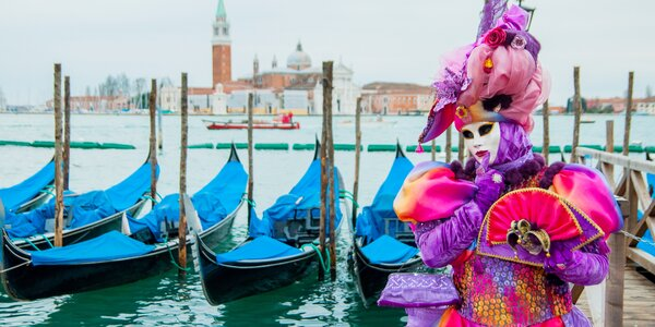 Kouzelný karneval v Benátkách plný zážitků