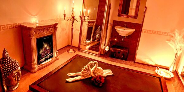 Tantrická masáž v luxusním centru Spa Afrodite