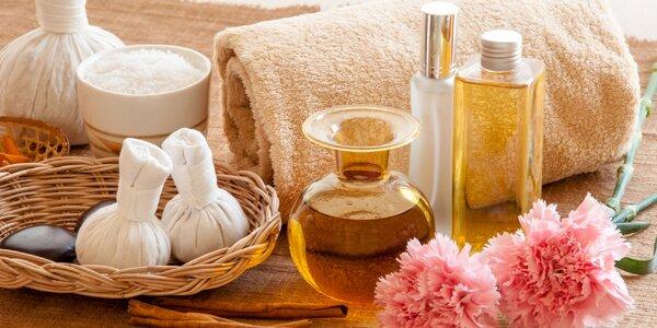 Uvolňující thajské či olejové masáže celého těla