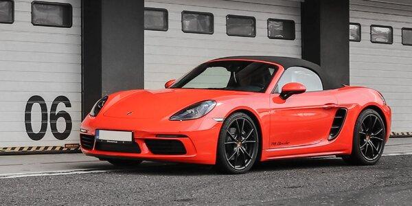 1–5 kol na skutečném závodním okruhu v Porsche 718 Cabrio