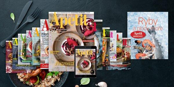 Předplatné časopisu Apetit s hodnotnými bonusy