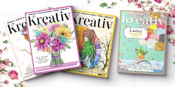 Roční předplatné časopisu Kreativ s dárkem