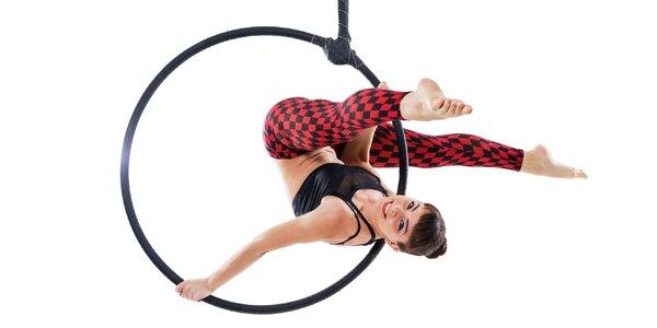 Pole dance či aerial hoop: 2 lekce dle výběru