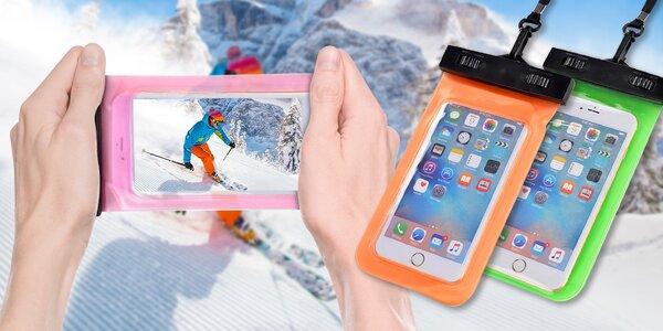 Vodotěsné pouzdro na mobil a další cennosti