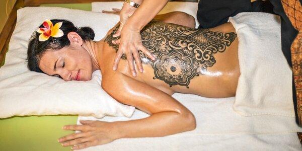 Thajská masáž podle výběru i infrasauna