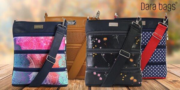 Crossbody kabelky české značky Dara bags