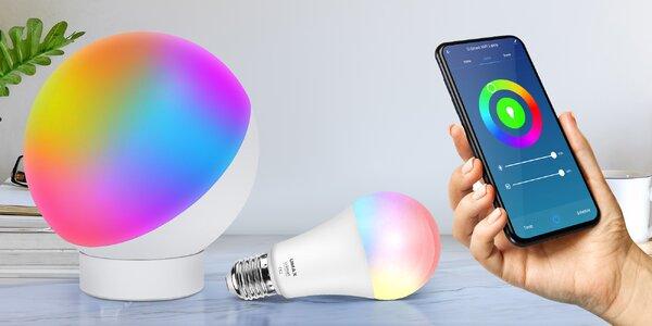 Umax U-Smart Wifi LED Lamp + Bulb se změnou barvy