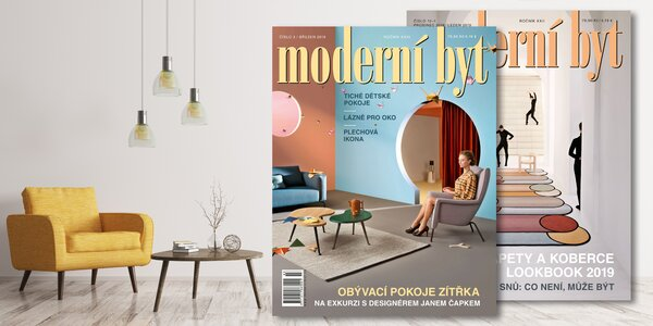 Roční předplatné časopisu Moderní byt 2020