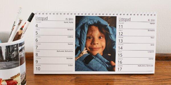 Stolní kalendář z vašich nejmilejších fotek