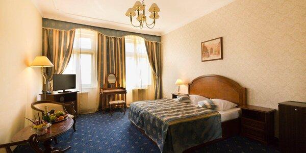 Pobyt v Karlových Varech s polopenzí i masáží