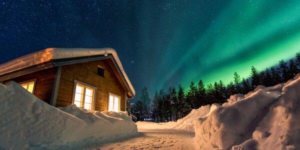 Do Švédska za polární září: srub až pro 11 osob