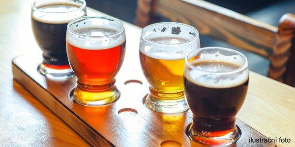 Degustace piv z ČR i ze zahraničí s výkladem sládka