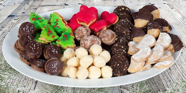 250, 500 nebo 1000 g voňavého vánočního cukroví