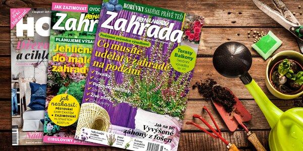 Předplatné časopisu Zahrada prima nápadů s bonusem