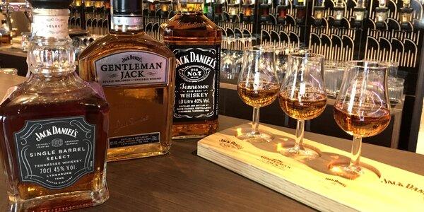 Degustace 4 druhů rumů i whiskey