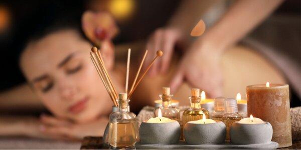 Aromaterapeutický rituál: masáž, peeling i zábal