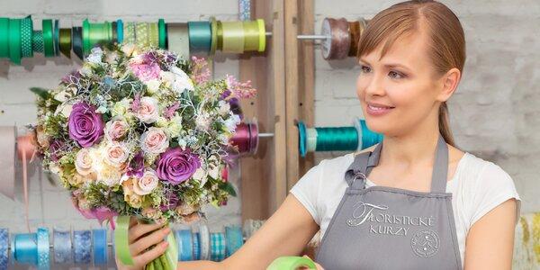 Floristické kurzy: Čelenka, náramek nebo kytice