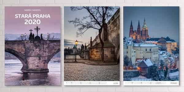 Kalendář na rok 2020 z limitované edice Stará Praha