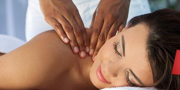 PĚT hodinových masáží dle vlastního výběru