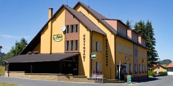 Wellness pobyt v CHKO Český les: polopenze, bowling