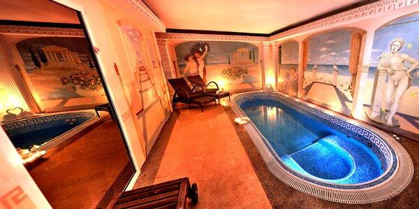 Relaxace ve Spa Afrodité: bazén, vířivka a sauna