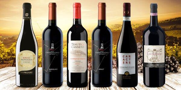 Na zdraví: suchá červená vína z Itálie