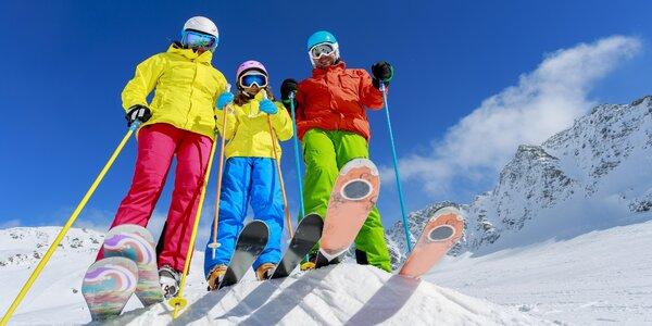 Velký nebo sportovní servis lyží či snowboardu