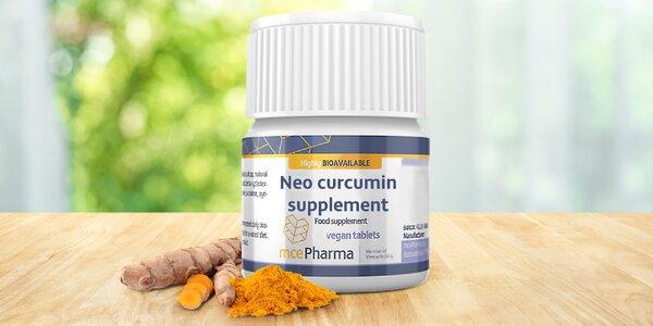 Kurkuminové tablety rozpustné v ústech