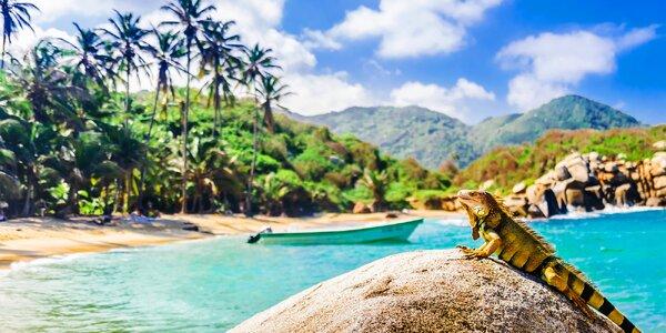 Poznejte Kolumbii: karibský ráj a slavné Ztracené město