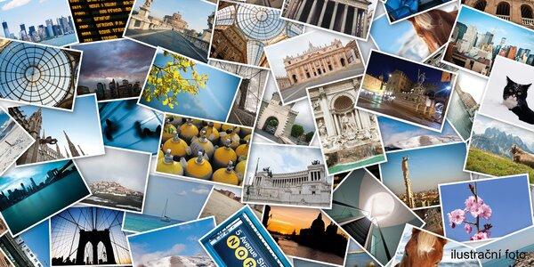 Vyvolání fotografií v kvalitě Klasik nebo Premium