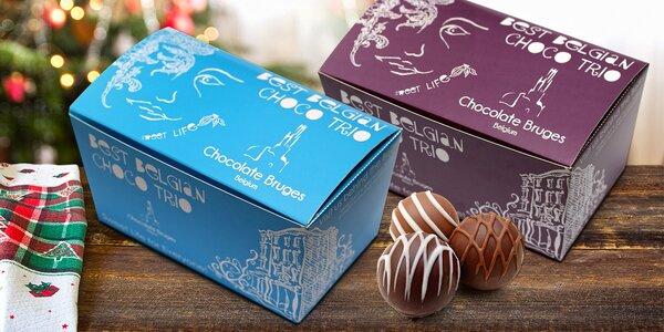 Lahodná belgická čokoláda: mix oblíbených druhů