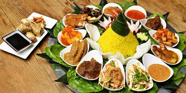 Tumpeng: slavnostní indonéské menu plné specialit