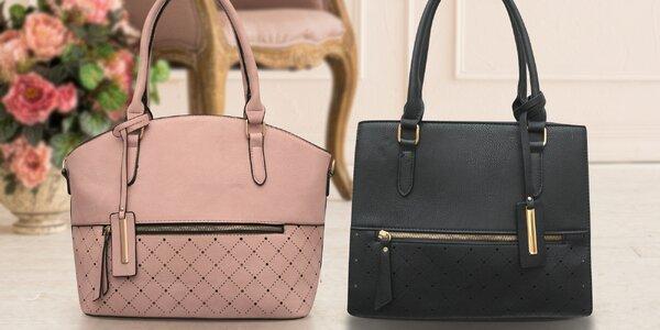 Dámské kabelky s vyráženým vzorem a spoustou kapes