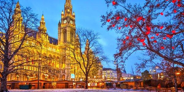 4* secesní hotel v centru Vídně: pobyt se snídaní