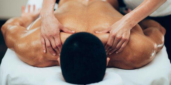 Výběr ze tří masáží v Kolíně na 30–90 minut