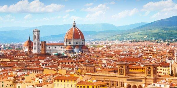 Poznávací zájezd s dopravou: Florencie a Řím