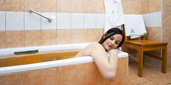 Koupel, zábal, masáž a perličková koupel v lázních Bochoř